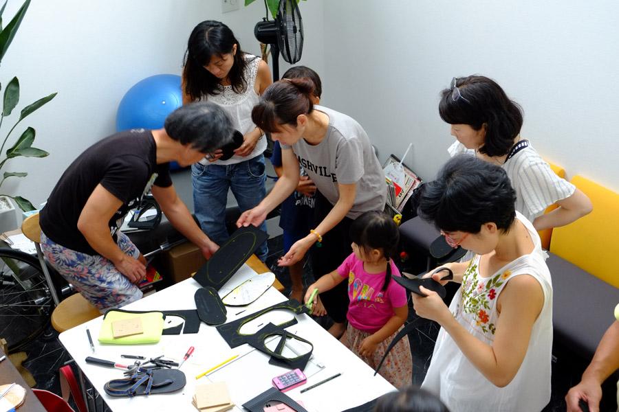 夏休み企画★親子 de 工作「ワラーチ」づくり @ADIO